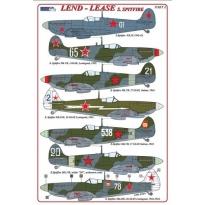 S.Spitfire / Lend – Lease series (+ P-E parts) (1:48)