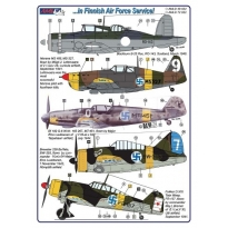 B.Roc,MS 406,Bf 109 G-6,Buffalo,Fokker D.XXI,I-153 (1:48)