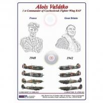 Alois Vašátko - 1st Commander  of Czechoslovak Wing RAF, Part I (1:48)