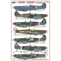 S.Spitfire / Lend – Lease series (+ P-E parts) (1:72)