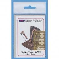 Fighter Yaks WW.II Seat Belts (1:32)