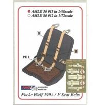 Seatbelts Fw 190A/F (1:48)