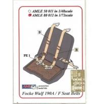 Seatbelts Fw 190A/F (1:72)