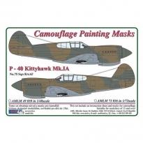 Curtiss P -40 Kittyhawk Mk.IA - Camouflage Painting Masks (1:48)