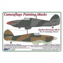 "H.Hurricane Mk.II  The ""A"" Camouflage Patterns (1:48)"