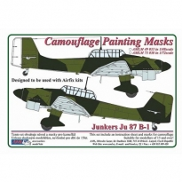 Junkers Ju 87B-1 - Camouflage Painting Masks (1:48)