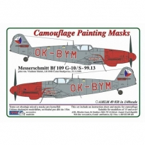 Messerschmitt Bf 109G-10/S.99 OK-BYM – Czech Police version (1:48)