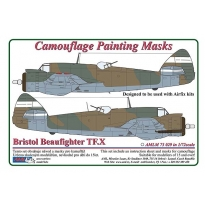 B.Beaufighte Mk.X - Camouflage Painting Masks (1:72)