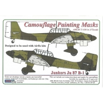 Junkers Ju 87B-1 - Camouflage Painting Masks (1:72)