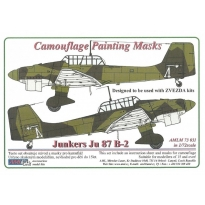 Junkers Ju 87B-2 - Camouflage Painting Masks (1:72)