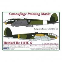 Heinkel He 111H-6, Camouflage Painting Masks (1:72)