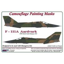 F – 111 Aardvark - Camouflage Painting Masks (1:72)