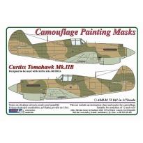 Curtiss Tomahawk Mk.IIB - Camouflage Painting Masks (1:72)