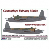 Vickers Wellington Mk.I - Camouflage Painting Masks (1:72)