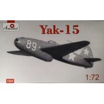 Yak-15 Soviet jet fighter - Limited edition (1:72)