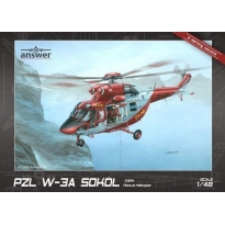 "Answer AA48006 PZL W-3A Sokół ""TOPR Rescue Helicopter"" (1:48)"