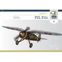 PZL P.11c Junior Set (1:72)