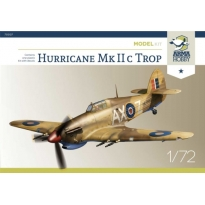 Hurricane Mk IIc trop Model Kit (1:72)