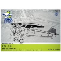 PZL P.6 Prototype Pro-set(1:72)