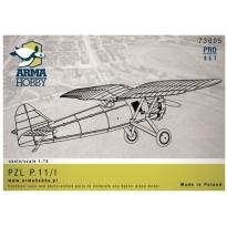 PZL P.11/I prototyp Pro-Set (1:72)