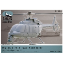 MQ-8C Fire-X UAV Helicopter (1:72)