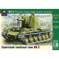 KV-2 Soviet heavy tank (early version) (1:35)