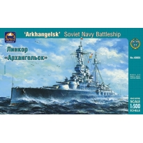 """""""Arkhangelsk"""" Soviet Navy Battleship (1:500)"""