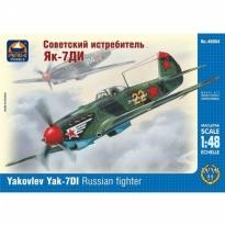 Yakovlev Yak-7DI Russian fighter (1:48)