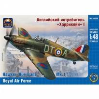 "Hawker ""Hurricane"" Mk.1 fighter Royal Air Force (1:48)"
