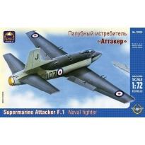 Supermarine Attacker F.1 Naval Fighter (1:72)