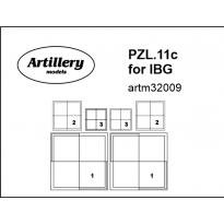PZL.11c insignia for IBG: Maska (1:32)