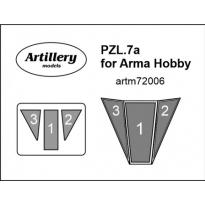 PZL.7a for Arma Hobby: Maska (1:72)