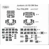 Junkers Ju 52-3M See for Italeri: Maska (1:72)