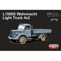 L1500S Wehrmacht Light Truck 4x2 (1:72)