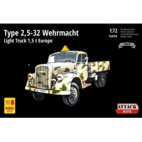 TYPE 2,5-32 Wehrmacht, light truck 1,5T EUROPE (1:72)