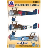Colourful Sopwith Camels (1:48)