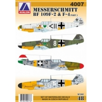 Messerschmitt Bf 109F-2/4 part 1 (1:48)
