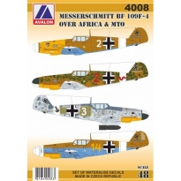 Messerschmitt Bf 109F-4 over Africa and MTO (1:48)