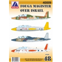 Fouga Magister over Israel (1:48)