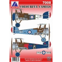 Colourful Sopwith Camels (1:72)