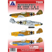 "Messerschmitt Bf 109F-2&4 ""Over Africa and MTO"" (1:72)"