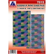 German Lozenge Complete set, 2 sheets (1:72)
