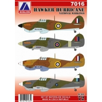 Hawker Hurricane National Markings (1:72)