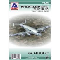 De Havilland DH-91 Albatross for VALOM kit: Maska (1:72)