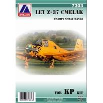 "LET Z-37 ""Čmelák"" for KP kit: Maska (1:72)"