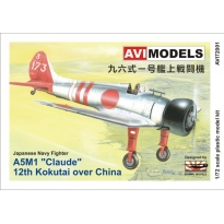 "A5M1 ""12th Kokutai over China"" (1:72)"