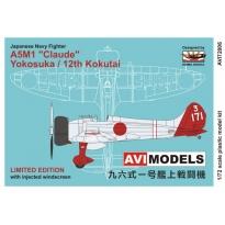 """A5M1 Claude """"Yokosuka/12th Kokutai"""" (1:72)"""