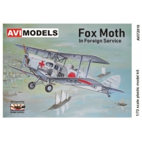 Fox Moth in Foregin Service (1:72)