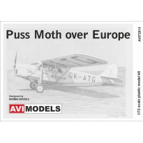 Puss Moth over Europe (1:72)