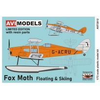 Fox Moth Floating & Skiing (1:72)